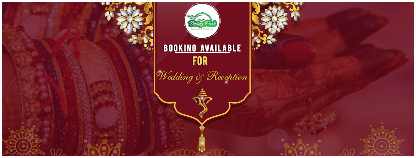 Booking Available for Wedding & Reception